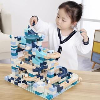 Đồ chơi trẻ em khối xếp hình cầu thả bi phát triển tư duy