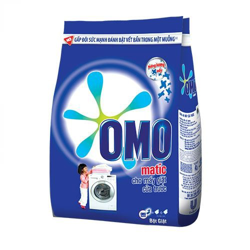 Bột giặt Omo Mactic cửa trước 6 Kg- Chính Hãng