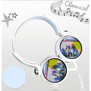 [Mã ELFLASH5 giảm 20K đơn 50K] Tai nghe chụp tai headphone hình nhóm WannaOne KPOP