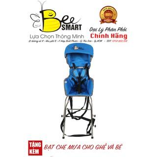 [ Xe Ga ] – Ghế ngồi xe Tay Ga thông minh cho bé Beesmart X1 – (Khăn Voan + Bạt che mưa)