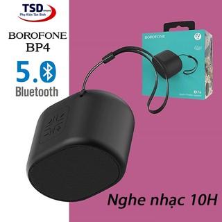 [Mã ELFLASH5 giảm 20K đơn 50K] Loa bluetooth mini Borofone BP4 chính hãng có móc treo, nghe nhạc 10 giờ