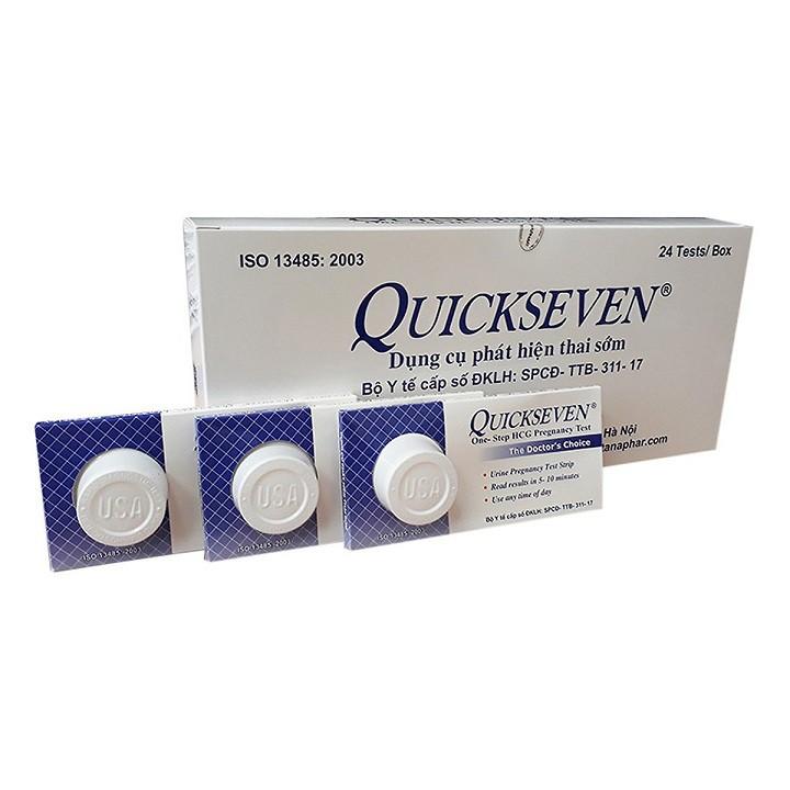 Combo 6 que thử thai Quickseven