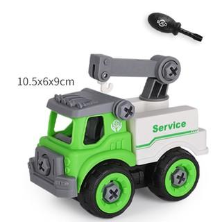 Xe đồ chơi mô hình ô tô tháo lắp dễ dàng hiệu Híp s Toys MODEL 996D bằng nhựa 2