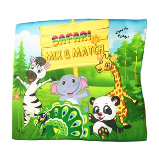 Sách vải Safari – Mix & Match