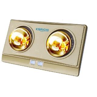 Đèn sưởi nhà tắm Korichi 2602 (2 bóng)