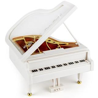 [Mã TOYCB7 hoàn 20K xu đơn 50K] Hộp nhạc piano lên dây cót