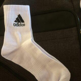 Combo 02 đôi tất Adidas cổ lửng.