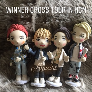 [Có sẵn] Tượng chibi WINNER – Cross Tour in HCM
