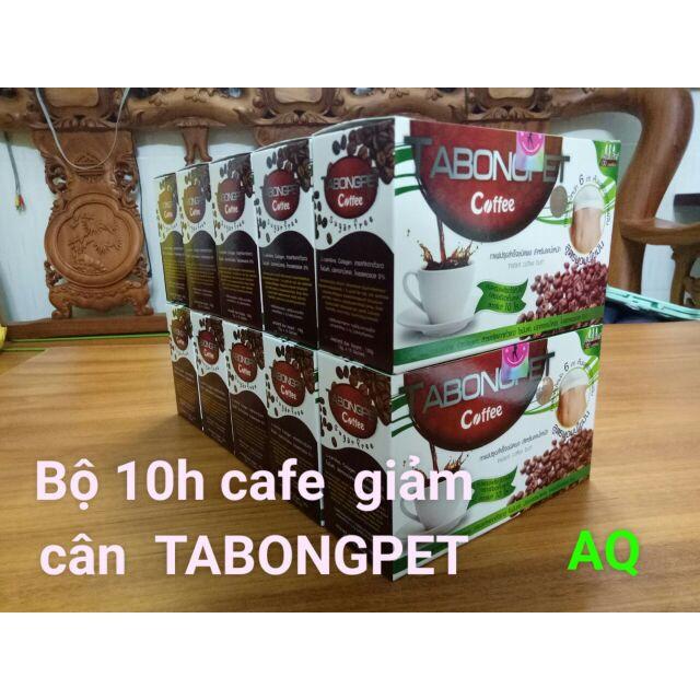 Bộ 10h GIẢM CÂN TABONGPET COFFEE Thái Lan( chính hãng 100%)