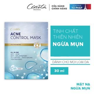 Mặt nạ dành cho da mụn Cénota Acne Control Mask 30ml thumbnail