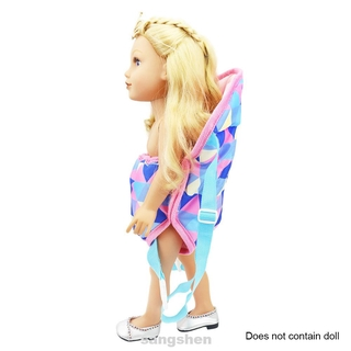 Outdoor Home Cloth Portable Birthday Gift Kids Toy Adjustable Strap Doll Accessories Baby Carrier