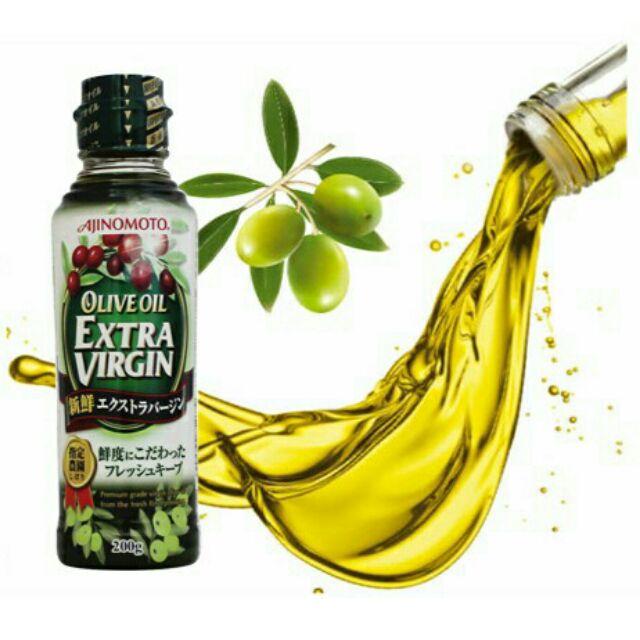 Dầu Olive Extra Virgin Ajinomoto 200g Nhật Bản