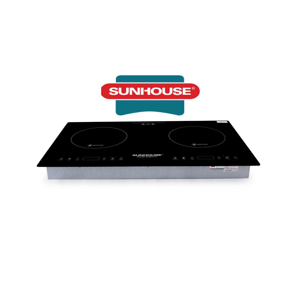 Bếp đôi điện từ SUNHOUSE SHB9101, Giá tháng 10/2020