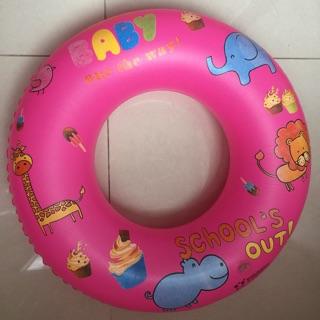 Phao bơi cho bé (phao tròn)-bơm phao