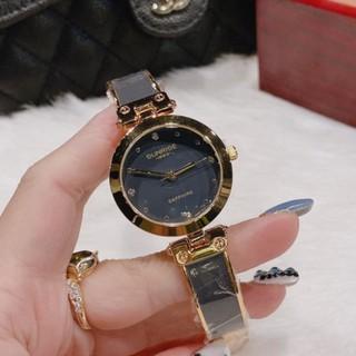 (Thẻ bảo hành 12 tháng) Đồng hồ nữ Sunrise, hàng full box, thẻ bảo hành 12 tháng