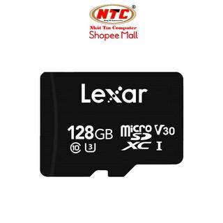 Thẻ nhớ MicroSDXC Lexar 128GB 633x V30 U3 4K R100MB/s W90MB/s - Không Box (Đen)
