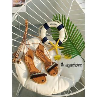 [Mã FASHIONXANH44 giảm 10% tối đa 30K đơn 99K] Giày sandal cột dây thổ cẩm Nagashoes NAS11N thumbnail