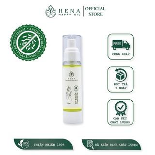 Xịt Kháng Khuẩn tinh dầu thiên nhiên cao cấp Hena - Làm sạch vượt trội - dưỡng ẩm, hương thơm từ tinh dầu - 50ml thumbnail