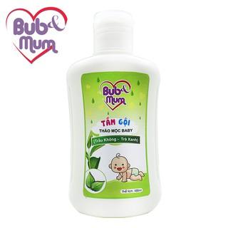 Sữa Tắm Gội cho bé 100ml BuB MuM chiết xuất Trầu Không và Trà Xanh giữ da mềm mại, thơm mát