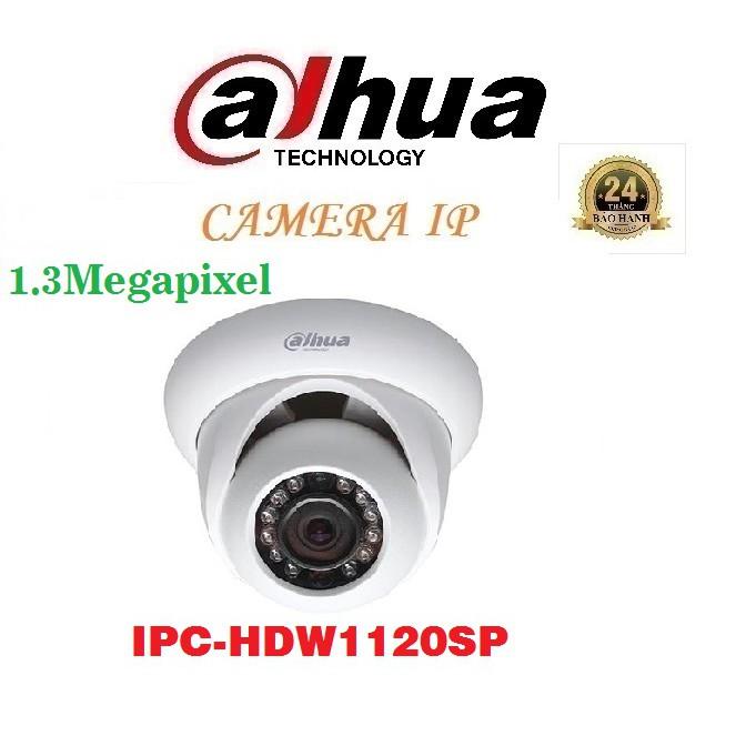 Camera IP Dome hồng ngoại 1.3 Megapixel DAHUA IPC-HDW1120SP