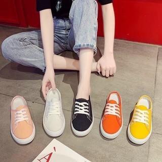 ⚡️FREESHIP TỪ 99k⚡️ Giày Sneaker Nữ Sục Thể Thao Nữ Vải Mềm Tiện Lợi