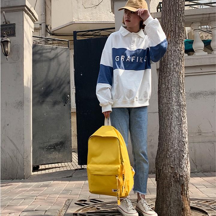 Balo vải thô trơn màu, balo học sinh, balo du lịch gọn gàng tiện dụng phù hợp cho cả nam và nữ - DMA store - 22879340 , 2826094319 , 322_2826094319 , 99000 , Balo-vai-tho-tron-mau-balo-hoc-sinh-balo-du-lich-gon-gang-tien-dung-phu-hop-cho-ca-nam-va-nu-DMA-store-322_2826094319 , shopee.vn , Balo vải thô trơn màu, balo học sinh, balo du lịch gọn gàng tiện dụng
