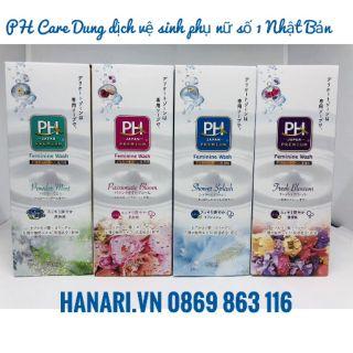 Dung dịch vệ sinh phụ nữ pH care Nhật Bản 1