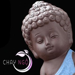 Bộ 4 tượng Phật chấp tay 4