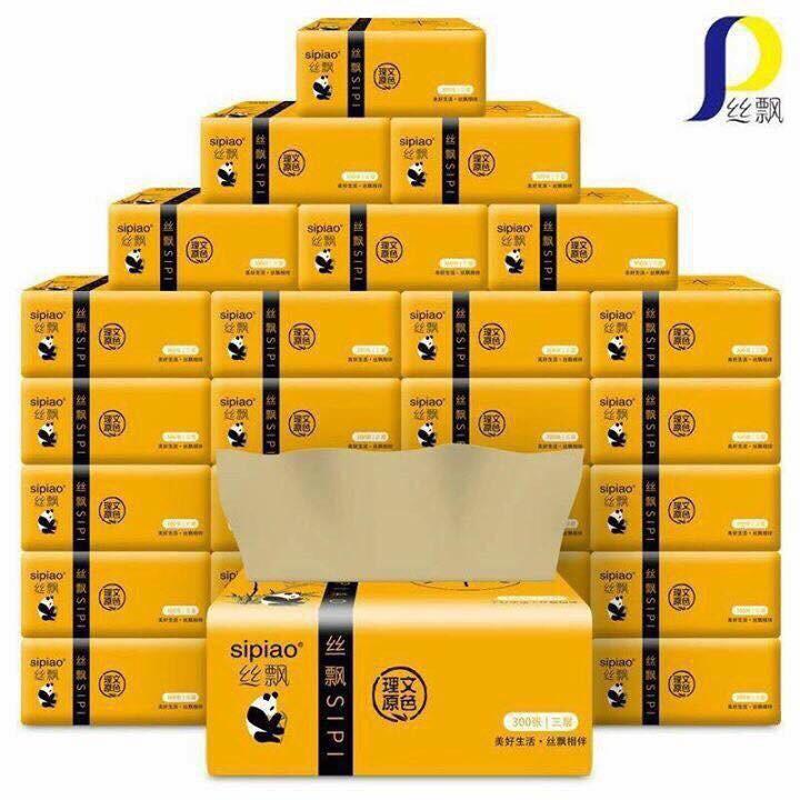 Thùng giấy ăn gấu trúc tre Sipao tự nhiên an toàn (27 gói) - 3600247 , 863188723 , 322_863188723 , 200000 , Thung-giay-an-gau-truc-tre-Sipao-tu-nhien-an-toan-27-goi-322_863188723 , shopee.vn , Thùng giấy ăn gấu trúc tre Sipao tự nhiên an toàn (27 gói)