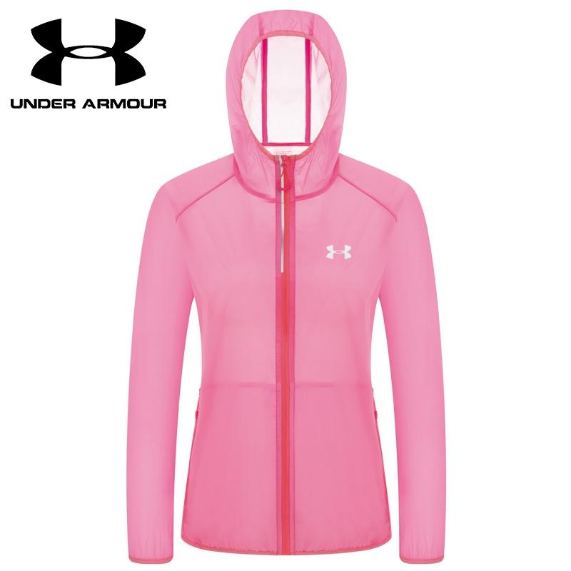 Áo khoác da Under Armor siêu mỏng thoáng khí chống nắng/gió cho nữ