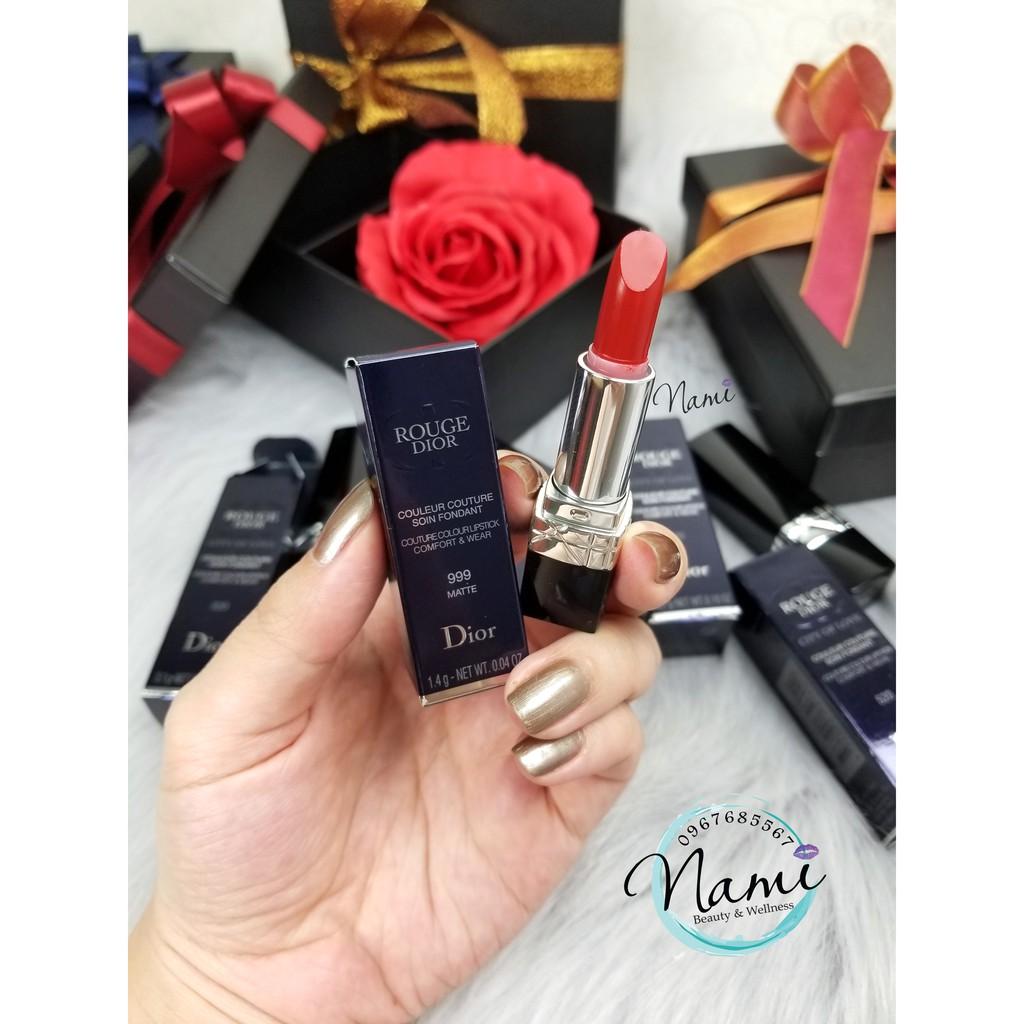 Son mini Dior Rouge 999 Matte - 9999544 , 843569242 , 322_843569242 , 330000 , Son-mini-Dior-Rouge-999-Matte-322_843569242 , shopee.vn , Son mini Dior Rouge 999 Matte