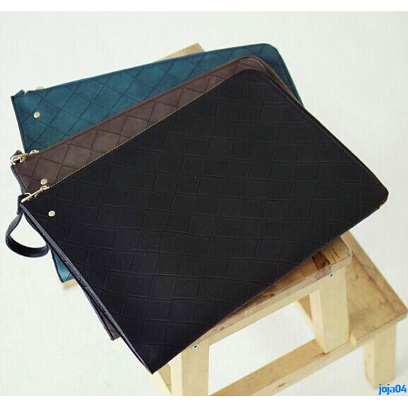 Full order 250000 shipmentsEuropean and American retro bag clutch bag envelope bag hand bag ipad bag tide man hand bag l