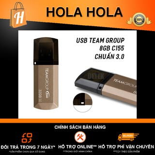 [Mã ELFLASH5 giảm 20K đơn 50K] USB Team Group C155 dung lượng 8GB chính hãng