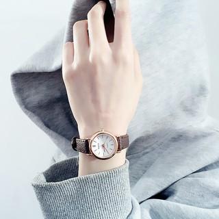 Đồng hồ dây da trơn thời trang nữ RaTe RT12