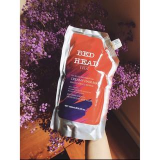 [CHÍNH HÃNG] HẤP Ủ TIGI ĐỎ - HẤP PHỤC HỒI TÓC HƯ TỔN TÚI 900ML, hương nước hoa, trị rụng tóc