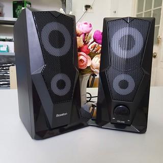 Loa vi tính 2.0 BOSSTON Z200 LED RGB Chính hãng âm thanh cực hay siêu bền  bảo hành 12 tháng 1 đổi 1