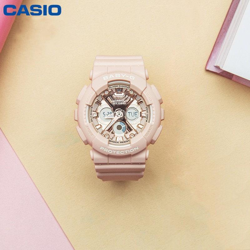 Đồng hồ nữ dây nhựa Casio Baby-G chính hãng Anh Khuê BA-130-4ADR