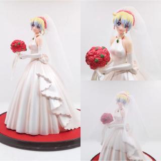 mô hình nhân vật cô dâu mặc đầm cưới