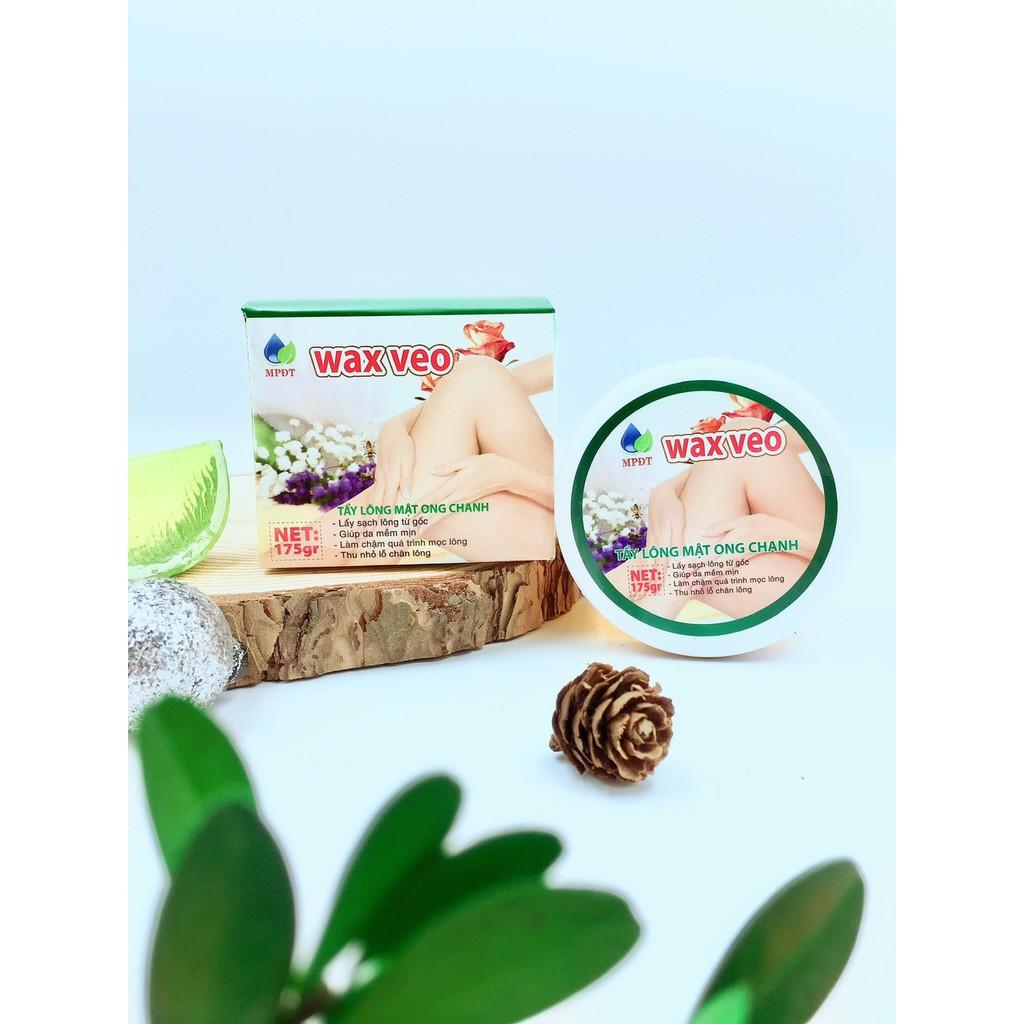 ( CHÍNH HÃNG ) WAX VEO Tẩy lông Triệt lông (TẶNG kèm giấy và que gạt) Tẩy sạch lông hàng cao cấp, chính hãng công ty