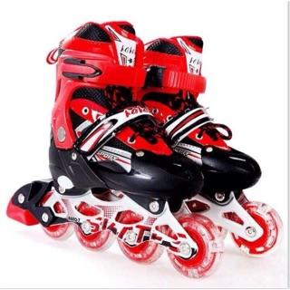 Giày trượt patin+ bảo hộ
