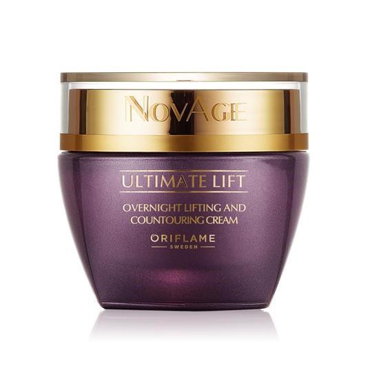 Kem dưỡng ban đêm giúp phục hồi độ đàn hồi da NovAge Ultimate Lift Overnight Lifting & Contouring Cr