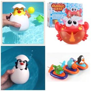 [Nhập TOY0210 giảm 10%] Combo đồ chơi nhà tắm 3 món cho bé