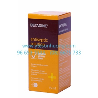 Dung dịch sát khuẩn Betadine Antiseptic Solution