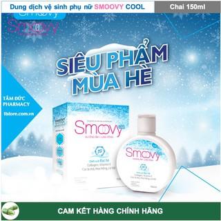 SMOOVY - SMOOVY COOL 150ml - Dung Dịch Vệ Sinh Phụ Nữ Smoovy [Smovy, smuvy, smovy cool] 4