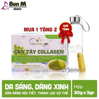 Cần Tây Collagen Thiên Nhiên Việt - Hộp 30 gói, Tem Điện Tử Chính Hãng thumbnail