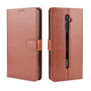 [Monika Shop] Bao da điện thoại màu trơn thanh lịch cho OPPO Reno2 F Reno 2 2F Reno2F
