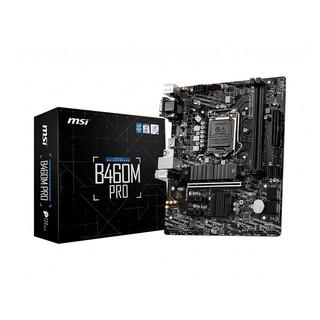 Mainboard MSI B460M PRO (Intel B460, Socket 1200, m-ATX, 2 khe RAM DDR4) thumbnail