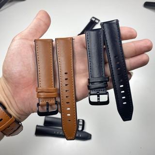 [Mã ELFLASH5 giảm 20K đơn 50K] Dây Da Hybrid 20mm - 22MM Cho Smartwatch - Đồng hồ truyền thống - Chốt Thông Minh