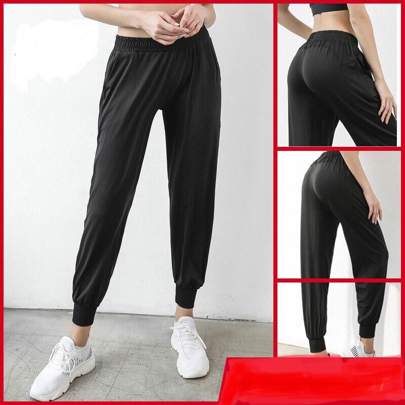 Quần joggers nữ mặc nhà, đi tập, mỏng nhẹ (thanh lý)