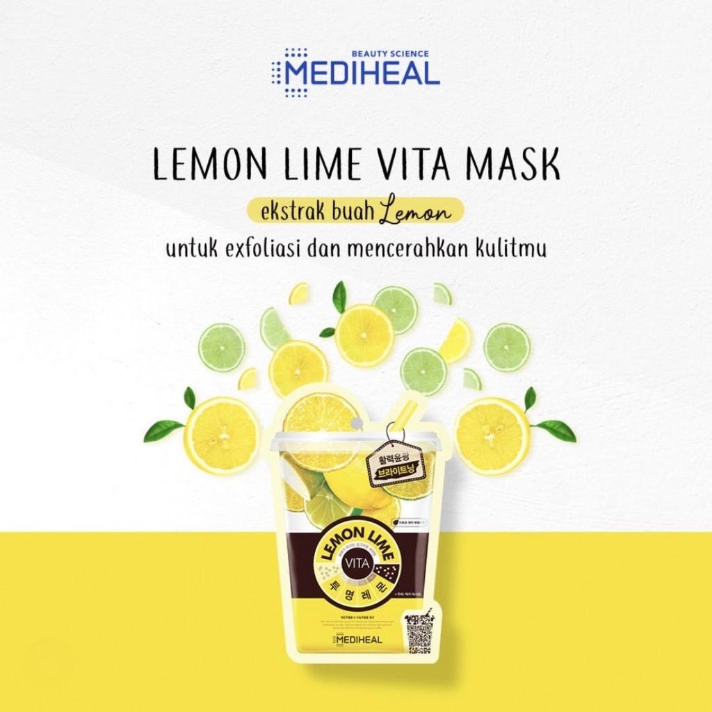 Mediheal Lemonlime Vita Mask
